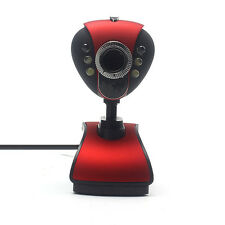 CMOS USB 2.0 HD Webcam Camera Web Cam With Microphone Mic LED For PC Laptop RD