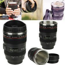 24-105mm Travel Coffee Mug cup Thermos Tea stainless Lens camera Exquisite hot