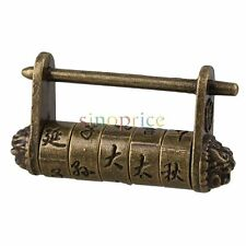 Unique and Elegant Chinese Old Style Word Password Combination Padlock Lock