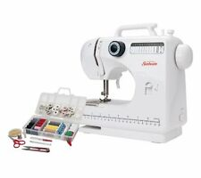 NEW Sunbeam Large Sewing Machine with Sewing Kit - White