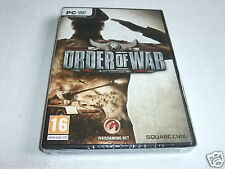PC Game Order of War Brand New Sealed Spanish Espana Version
