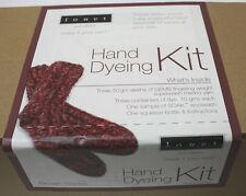 Louet Hand Dyeing Sock Knit Kit - Reds