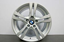 "1 x Genuine Original BMW X1 E84 18"" 355 M Sport Silver alloy wheel - 335M Rear"