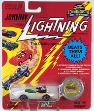 Johnny Lightning Vicious Vette Pearl White A Bonus Car Series K 1993 MOC
