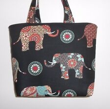 Handmade Elephant Tote Purse Bag