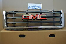 2007-2012 GMC Sierra 1500 Front Chrome GRILLE with emblem new OEM 22761792