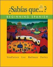 Beginning Spanish (¿Sabías Que... ?) by James F. Lee, Andrew P. Farley, Bill...