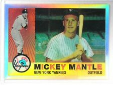 1996 Topps Chrome Reprint Refractor Mickey Mantle #10of19 *40910
