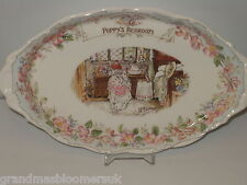 BRAMBLY HEDGE ROYAL DOULTON OVAL TRAY POPPY'S BEDROOM GIFT COLLECTION 1ST QTY