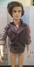 NEW KEN DOLL PINSTRIPE SHIRT WITH ATTACHED VEST