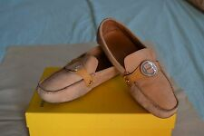 AUTH COLE HAAN Country Tan Beige Suede Leather Moccasin Flats Shoes Womens 9.5