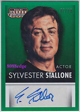 """2015 AMERICANA AUTO: SYLVESTER STALLONE #2/10 AUTOGRAPH """"THE EXPENDABLES/CREED"""""""