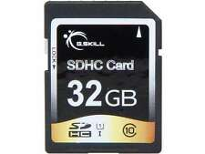 G.SKILL Photo/Video (SD Cards) 32GB Secure Digital High-Capacity (SDHC) Flash Ca