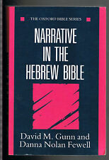Narrative in the Hebrew Bible (Oxford Bible)-BRAND NEW