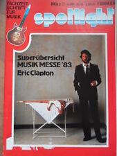 SPOTLIGHT 3 - 1983 Eric Clapton Iron Maiden K.E.C.K. Messe Frankfurt Main