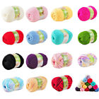 50g Super Soft Double Knitting Yarn Ball Natural Wool Acrylic Cole Colours Hot