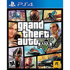 Brand New Grand Theft Auto V for PlayStation 4 GTA 5 for PS4 Free US Shipping