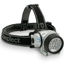 18 LED Lampada da Testa Frontale Torcia Campeggio Headlamp Luce Pesca Ciclismo