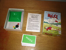 A ROUND WITH MALICE ARMCHAIR GOLF GAME 1993 VINTAGE RETRO RARE COMPLETE