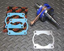 BLASTER Yamaha crank crankshaft VITO'S +3mm STROKER YFS200 & bearings NEW