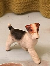 Vintage Ucagco Terrier dog breed ceramics figurine made in Japan MINT condition