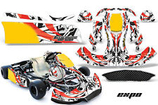 AMR Racing Graphics CRG NA2 Kart Wrap New Age Sticker Decal Kit EXPO RED