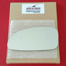 NEW Mirror Glass + ADHESIVE 00-05 BUICK LESABRE Driver Left Side DIMMING LH