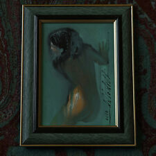 The NIGHT GIRL ❤ FRAME SURF NYMPH SEXY EROTIC NUDE Female REAR Pin ORIG Antonyuk