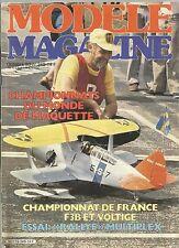 MODELE MAG N°349 MONOGRAPHIE DU CIRRUS 75 REEL / CHAMPIONNATS DE FRANCE-MONDE