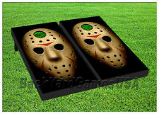 VINYL WRAPS Cornhole Boards DECAL The Mask Bag Toss Game Stickers 461