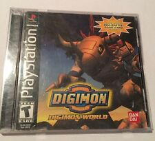 Digimon World (Sony PlayStation 1, 2000) Complete