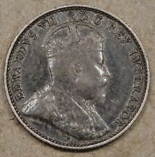 Canada 1903 Five Cents Better Circulated Grade Coin