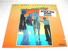 "Hues Corporation ""Freedom For The Stallion"" 1973 Soul LP, SEALED!, Rock The Boat"