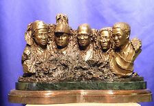 Freedom Mountain Bronze Portrait Sculpture