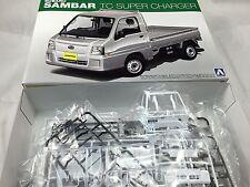 Aoshima 07372 Subaru SAMBAR Truck TC SUPER CHARGER 1/24 scale kit