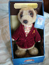 """""""ALEKSANDR"""" Compare the Market Meerkat Soft Toy with Certificate & Ear Tag BNIB"""