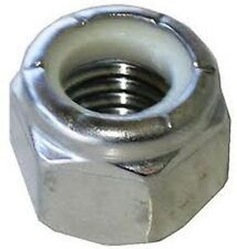 Stainless Steel A2 M12 x 1.75 Nylon Insert Lock Nut 304 pack of 10