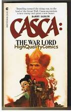 CASCA : WAR LORD pb, FN-, Barry Sadler, 1980, Unread, 1st, more in store