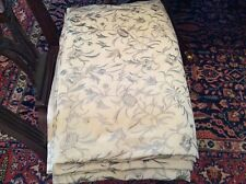 Ann Gish Embroidered Silk King Duvet Cover - Backed with Silk Charmeuse