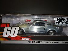 Greenlight Ford Mustang Eleanor 1967 Gone in 60 Seconds 1/18 Polished Metal