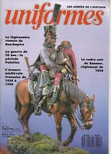 UNIFORMES N°101 LEGIONNAIRE ROMAIN DU BAS-EMPIRE /GUERRE DE 30 ANS /A. MEDIEVALE