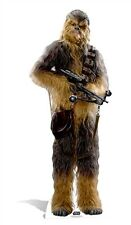 Chewbacca Star Wars The Force Awakens Cardboard Cutout Stand Up Standee Wookie