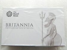2014 Great Britain Britannia Gold Proof 3 Coin Set Box Coa Sealed - Mintage 150