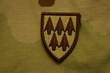 Authentic US Army DCU Tan Desert Colored AAMDC Air Defense Sew On Military Patch