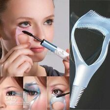 3 in 1 Makeup Eye Lash Brush Mascara Curler Wimpern Schminkhilfe Wimpernkamm x