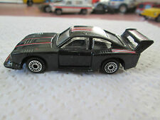 Vintage Zee Toy black Ford Capri Turbo Race Car D71 - Hong Kong (Minty)