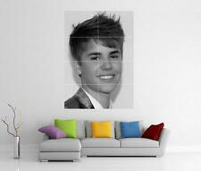JUSTIN BIEBER GIANT WALL ART PICTURE PRINT POSTER H18