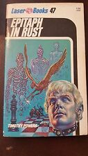 """Timothy Powers, """"Epitaph in Rust"""" 1976, Laser Books 47, NF, 1st, PBO"""