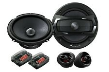 "NEW PIONEER TS-A1305C 5.25"" 2-WAY COMPONENT SET CAR STEREO AUDIO SPEAKERS"