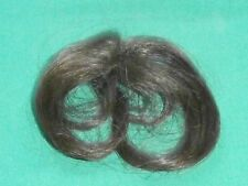 "doll wig/partcap/weaving brown circumference 2.5""/ hairlength 4"""